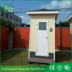 Galvanized Steel Frame Portable Toilet for Sale